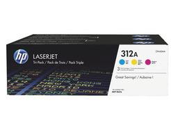 HP 312A pack van 3 toners kleuren
